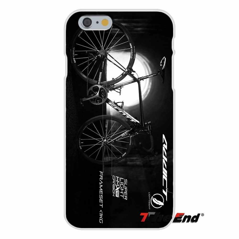 For Scott Bike Bicycle logo For Sony Xperia Z Z1 Z2 Z3 Z5 compact M2 M4 M5 E3 T3 XA Aqua Soft Silicone Case