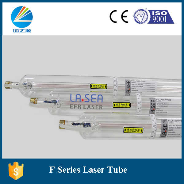 EFR 150 واط Co2 ليزر أنبوب F8 مع 1850 مللي متر طول مطابقة مع hy 150 واط Co2 امدادات الطاقة