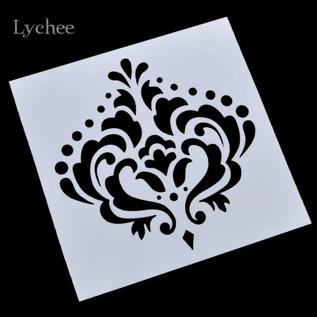 Imperial Crown Design Sbooking Tool Card Diy Al Masking Spray Painted Template Drawing Stencils Laser Cut