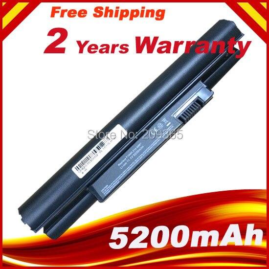 5200mAh Battery for Dell Inspiron Mini 10 10v 1010 1010n 1010v 1011 1011n 1011v H766N H768N J590M J658N K781 K916P PP19S цена