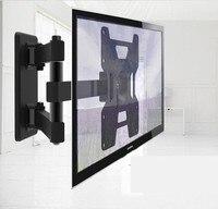 Heavy Duty Full Rotation 23~37 TV Wall Mount Monitor Holder Kitchen Bracket SL12D