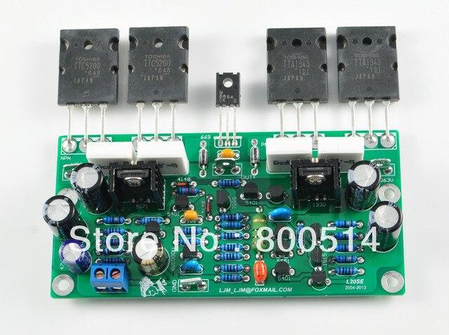 L20SE усилитель Мощности доска с A1943 C5200 включают 2 канала доска НОВАЯ