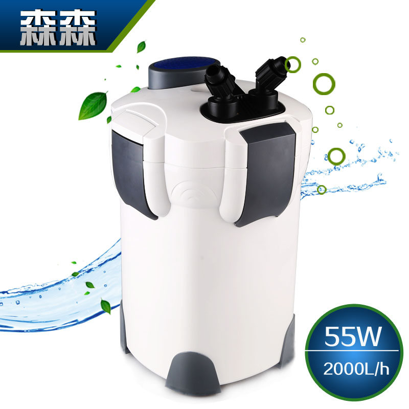 Sunsun 55w 2000l h 4 stage external aquarium canister for Pond canister filter
