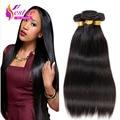7A Brazilian Virgin Hair Straight 4 Bundles Straight Virgin Hair Human Hair Weave Unprocessed Mink Brazilian Straight Hair
