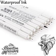 Japão marcador de desenho de pigma, canetas marcadoras de ponta fina 003 005 01 03 08 1.0 escova sektch marcadores de arte dessin