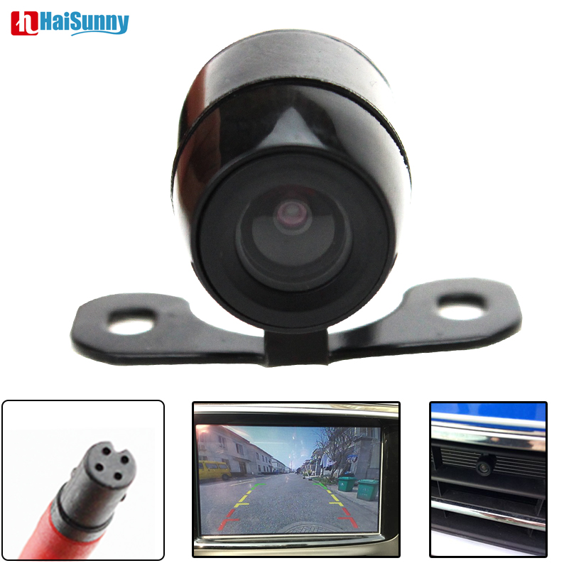 HD Car Rear View Camera 4 Pin Interface CCD Reverse Backup Review Reversing Parking Kit Butterfly Waterproof Night Vision