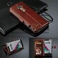 Top qualidade carteira de couro de luxo case capa para lg g4 case for lg optimus g4 h810 vs999 f500 sacos de telefone casos