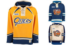 High Quality New Designs Erie Otters Style Hockeys Stitching Sweatshirt 4c047b927