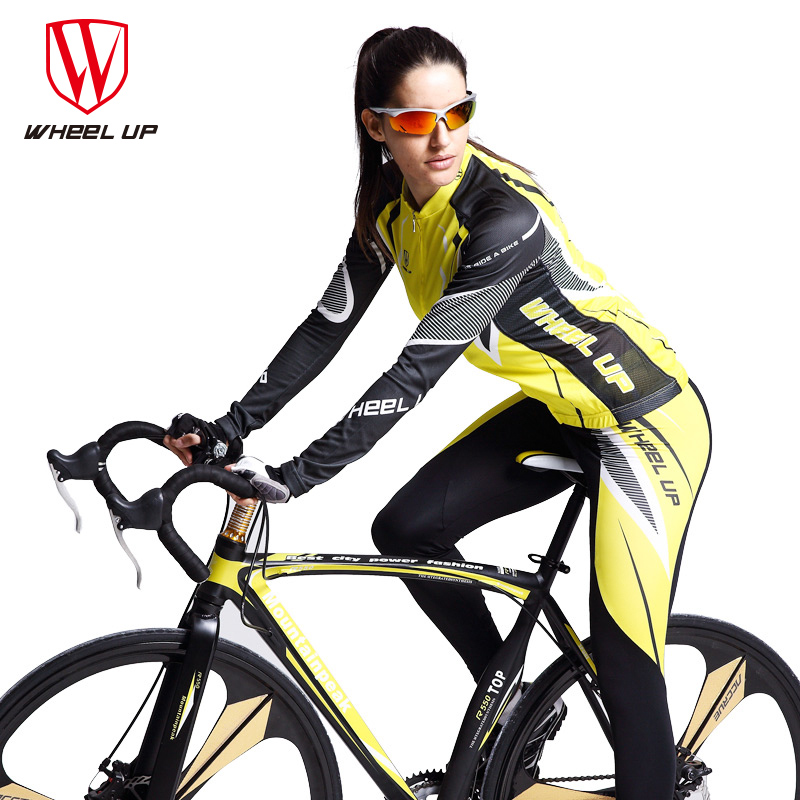 Breathable Quick-drying Cycling Sets Man Women Anti-sweat Long Sleeve Bicycle Cycling Riding Jersery Trouser Set Bicycle Clothes high quality whole set eva anti crash goalkeeper sets breathable long sleeve goalkeeper jerseys soccer sets