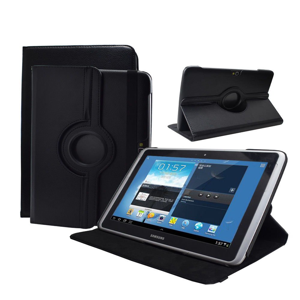 GT-N8000 N8010 roating stand case cover - advanced pu leather cover for Samsung Galaxy Note N8000 N8010 tablet cover stand case