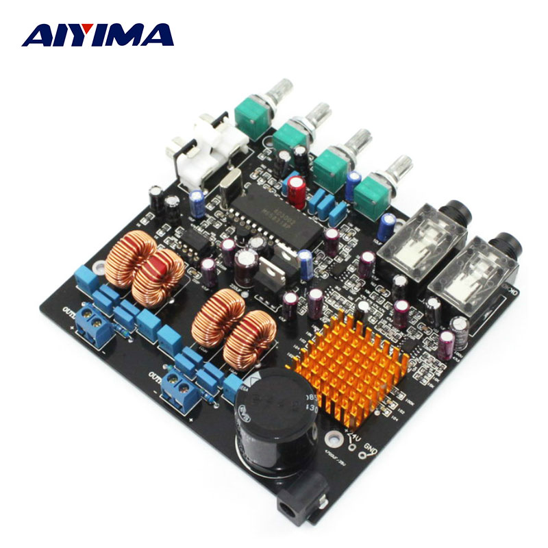 все цены на  AIYIMA TPA3116 Amplifier Audio Board Class D Digital Home Stereo Tube Amplifiers Boards Enthusiast Power Amplifier DC24V 2*50W  в интернете