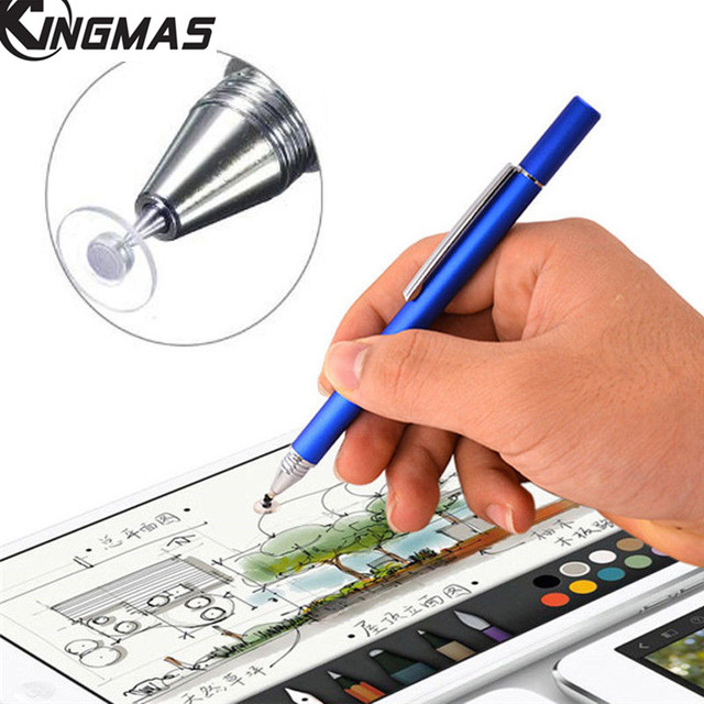buy popular 56b63 3a378 US $2.99 25% OFF|KINGMAS For iphone X Stylus Capacitance Touch Pen For  Apple iphone 6 7 plus High Precision Ultra Fine Head Touch Handwriting  Pen-in ...