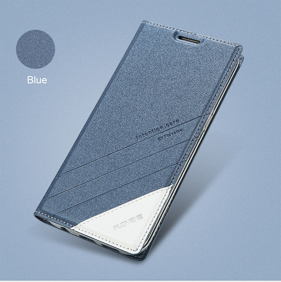Magnetic Flip Leather Case For iPhone 5 6 7 Plus Card Slot Cover S8 BOB (1)
