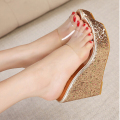2017 Summer shoes Women sandas Wedges Sandal Female slippers high heel shoes sy-1818