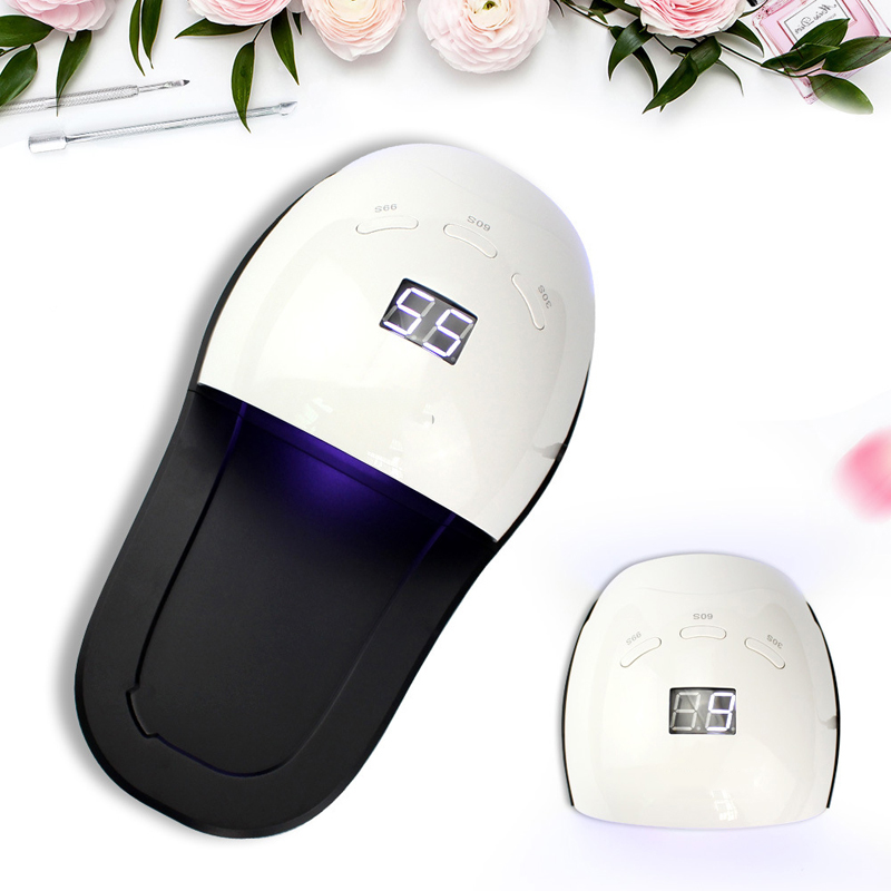 48w Hands And Feet General Nail Shop With Light Therapy Machine Slippers Light White Light Not Black Hand Led Nail Polish Glue in Nail Dryers from Beauty Health