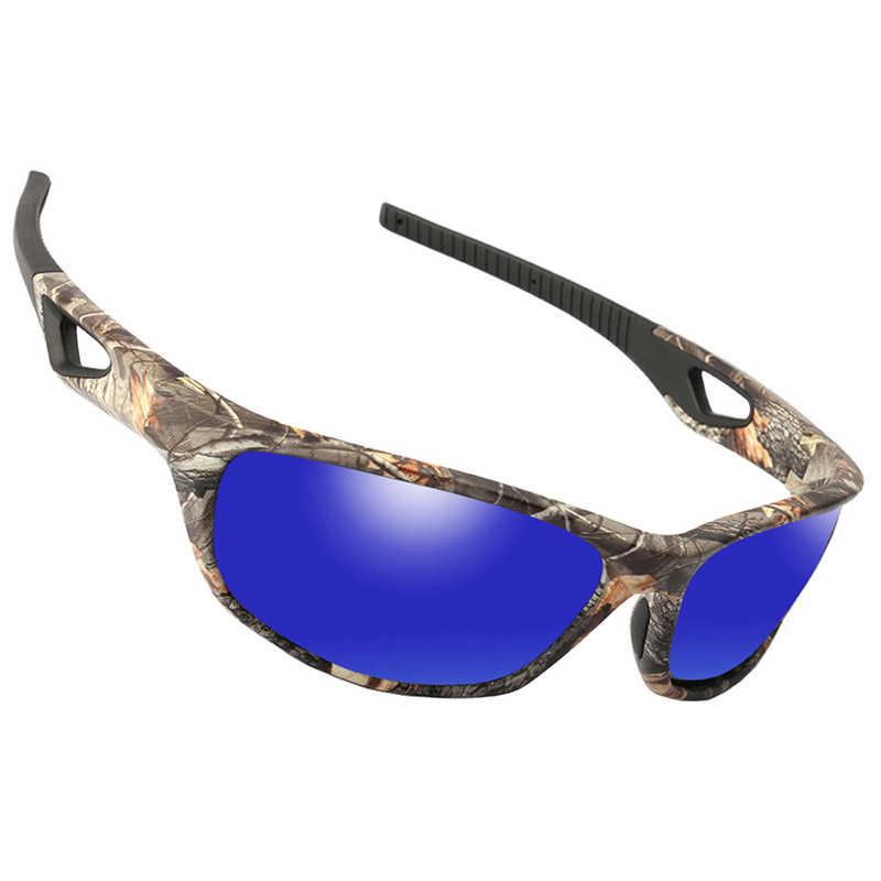 Camo Photochromic Polarised Sunglasses fishing hunting carp Polaroids polarized