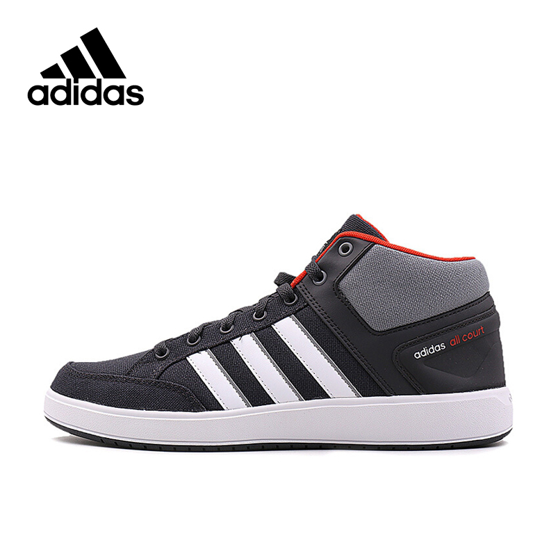 New Arrival Official Adidas CF ALL COURT MID Men's Breathable Tennis Shoes Sneakers термоноски guahoo sport mid weight 150 cf bk