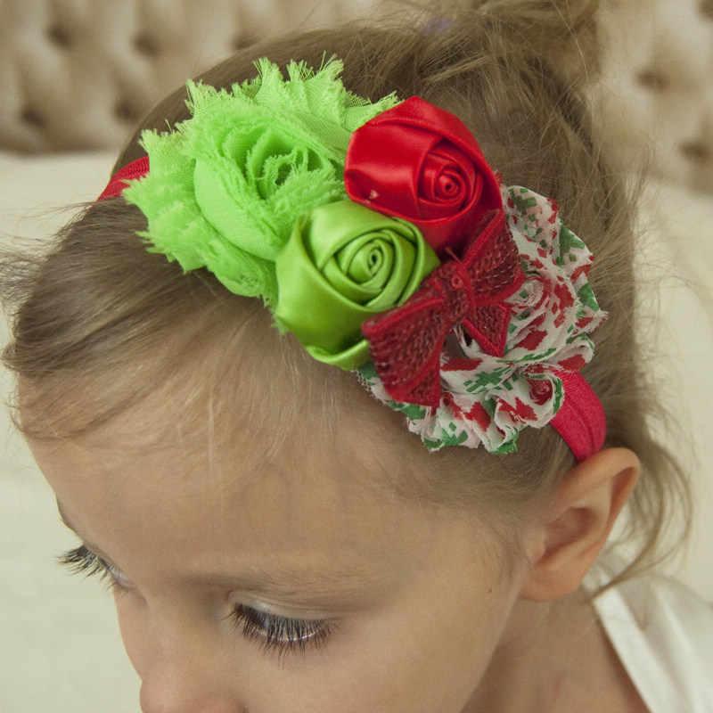 1ชิ้นH Eadbandsสำหรับวันอีสเตอร์หรือคริสต์มาสหมวกกันน็อกที่มีรูปดอกไม้อุปกรณ์ผมในดอกไม้แบบบนพื้นผิวเรียบวง