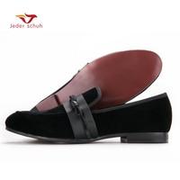 men loafers Velvet men's car line Slippers wedding and banquet shoes men flats size US6 15