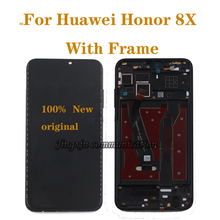 6.5 original with frame display for Huawei Honor 8X JSN-L21 JSN-AL00 JSN-L22 LCD + touch screen digitizer assembly repair parts