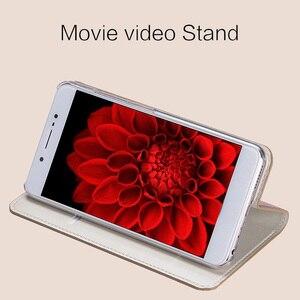 Image 4 - wangcangli leather calfskin litchi texture For MOTO XT1662 flip phone case all handmade custom