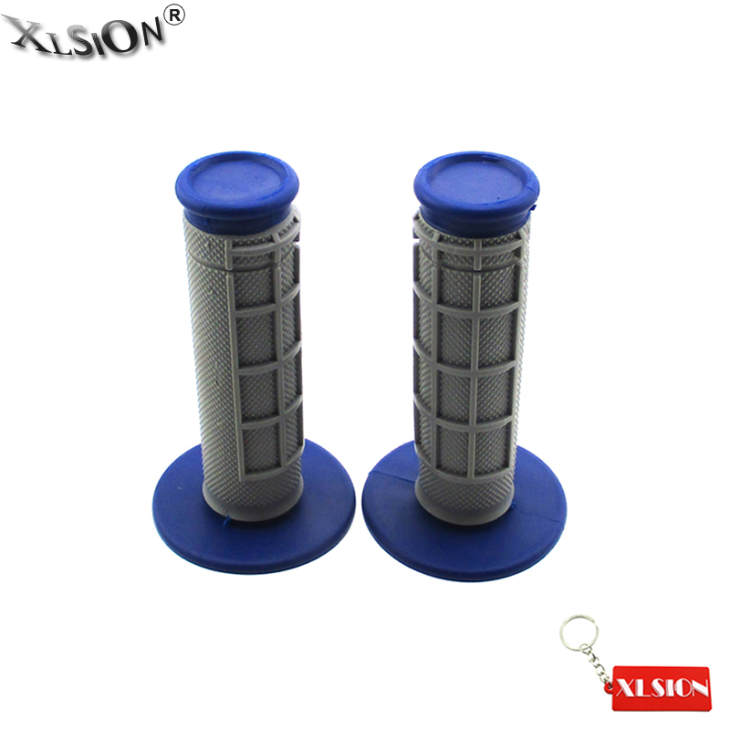 XLSION Soft Hand Grips For Yamaha YZ250 YZ125 YZ250F YZ450F TTR WR Dirt Bike Motocross