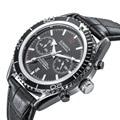 KIMSDUN top marke trend luxus sport astronaut quarz herren uhr leucht lederband casual geschenk uhr Relogio Masculino Quarz-Uhren    -