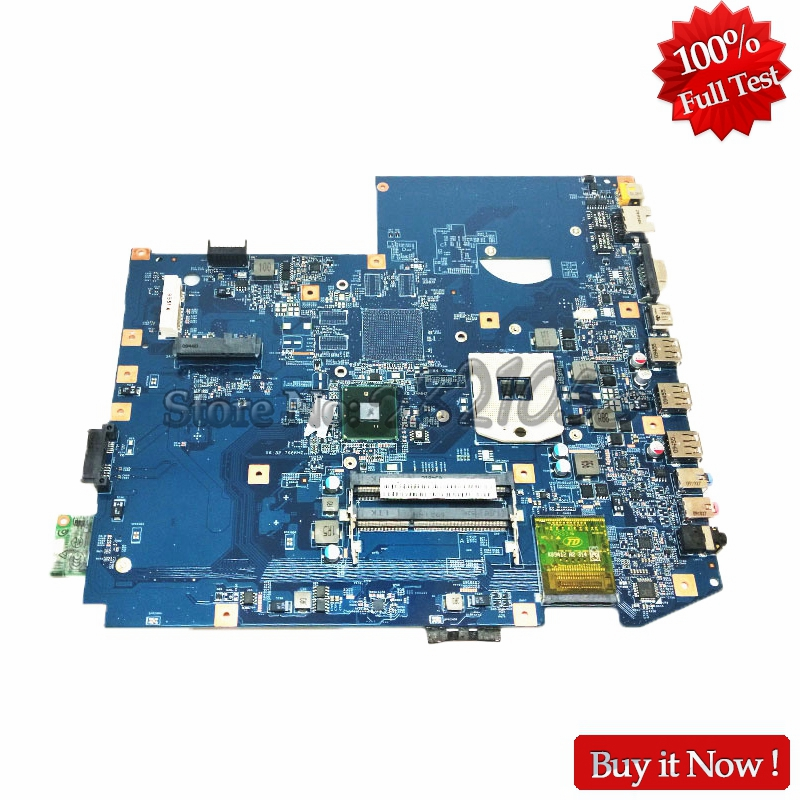 NOKOTION MBPLY01001 MB.PLY01.001 Laptop Motherboard For Acer aspire 7740 PC Main Board 48.4GC01.011 HM55 DDR3 nokotion mb rn60p 001 mbrn60p001 main board for acer aspire 7739 7739z laptop motherboard hm55 ddr3 gma hd warranty 60 days