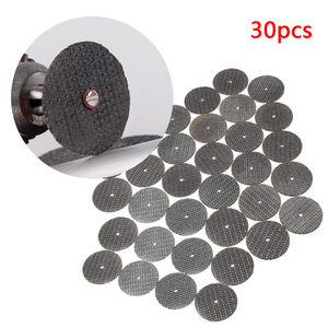 Image 4 - 30 個金属切削ディスク研磨工具グラインダー回転工具丸鋸刃木工金属ドリル accesso