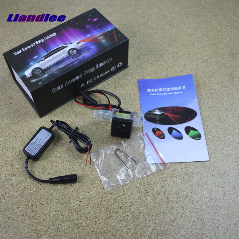 Liandlee Car Tracing Cauda Laser Light For Ford Explorer U502 2010~2015 Modified Special Anti Fog Lamps Rear Lights car tracing cauda laser light for volkswagen vw jetta mk6 bora 2010 2014 special anti fog lamps rear anti collision lights