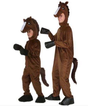 horse costume kids halloween animal