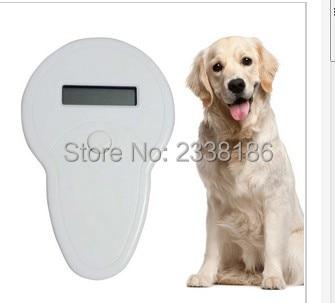 ISO11785/84 FDX-B Pet Microchip Scanner, Animal RFID Tag Reader dog reader Low Frequency Handheld RFID Reader handheld pet
