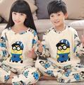 Winter Children Fleece Pajamas Warm Flannel Sleepwear Girls Loungewear Coral Fleece Kids pijamas Mujer Homewear Winter Pyjama