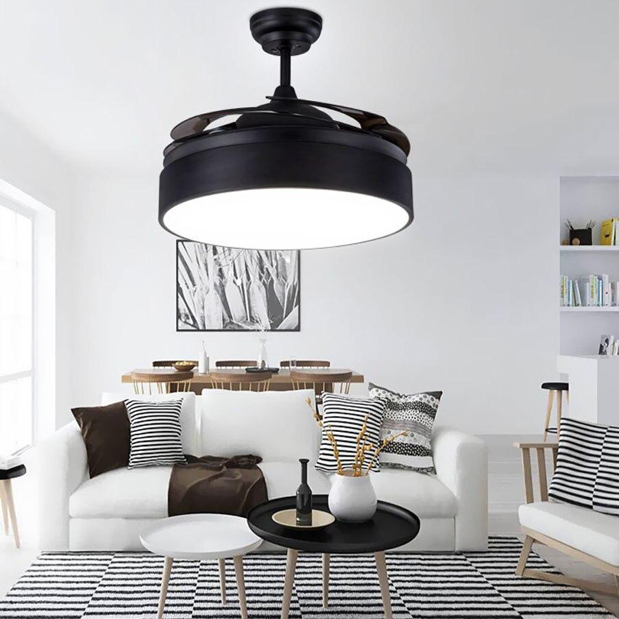 LED Modern Alloy Acryl Ceiling Fan LED Lamp LED Light Ceiling Lights LED Ceiling Light Ceiling