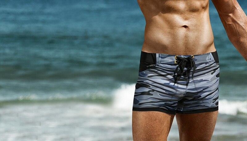 Homens Praia Correndo Surf Board Shorts Esporte