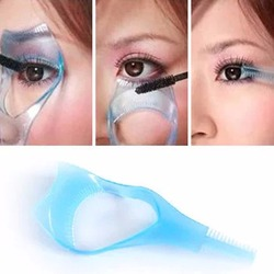 1PC Eyelash Curler Plastic Mascara Guide Applicator Lash Guard Eyelash Curling Comb for Lashes Cleaning Supplies Eye Makeup Tool