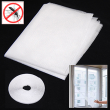 Лидер продаж белый большие окна Экран сеточку насекомых Fly ошибках Mosquito Мотылек Дверь сетки