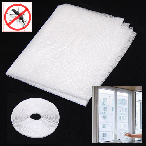 Hot sell White Large Window Screen Mesh Net Insect Fly Bug Mosquito Moth Door Netting( & Compare Prices on Net Screen Door- Online Shopping/Buy Low Price ... Pezcame.Com