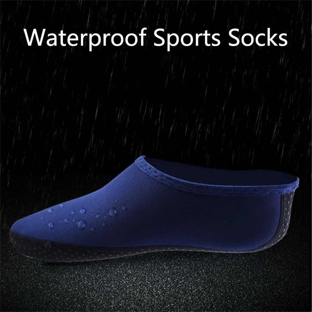 Unisex SBR Stof Waterdichte Sport Sokken Water Schoenen Sokken Strand Zwembad Dance Swim Surf Schoenen Snorkelen Duiken Zwemmen Sokken