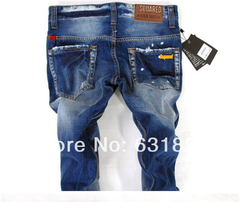 New 2015 Italian Brand Men's Jeans,Original Fashion Warm Plus Size ...