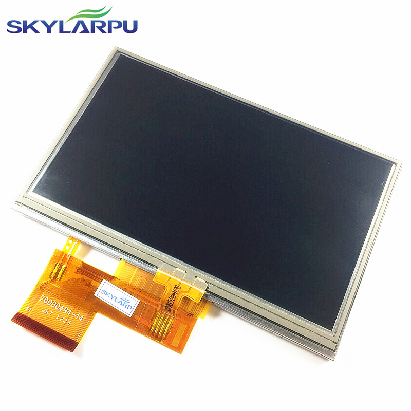skylarpu New 4.3-inch LCD screen for GARMIN Zumo 350 LM 350LM GPS LCD display screen with Touch screen digitizer Free shipping skylarpu 2 2 inch lcd screen module replacement for lq022b8ud05 lq022b8ud04 for garmin gps without touch