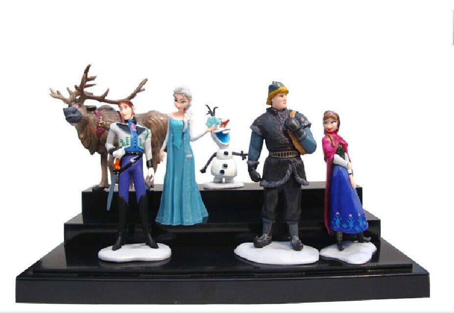 6 Pcs/Set Disney Toys for Kids Birthday Christmas Gifts Plastic ...