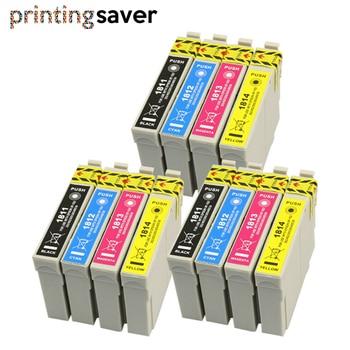 12Pcs Cartridges for Compatible EPSON 18XL T1811 T1816 XP312 XP205 XP225 XP212 XP215 XP302 XP412 XP402 XP415 printer brand new f197000 original print head for epson xp103 xp102 xp203 xp205 xp202 xp215 nx420 printhead