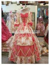 17 18th Century Pink Baroque Rococo Marie Antoinette Ball Gown A Line  Style Dress