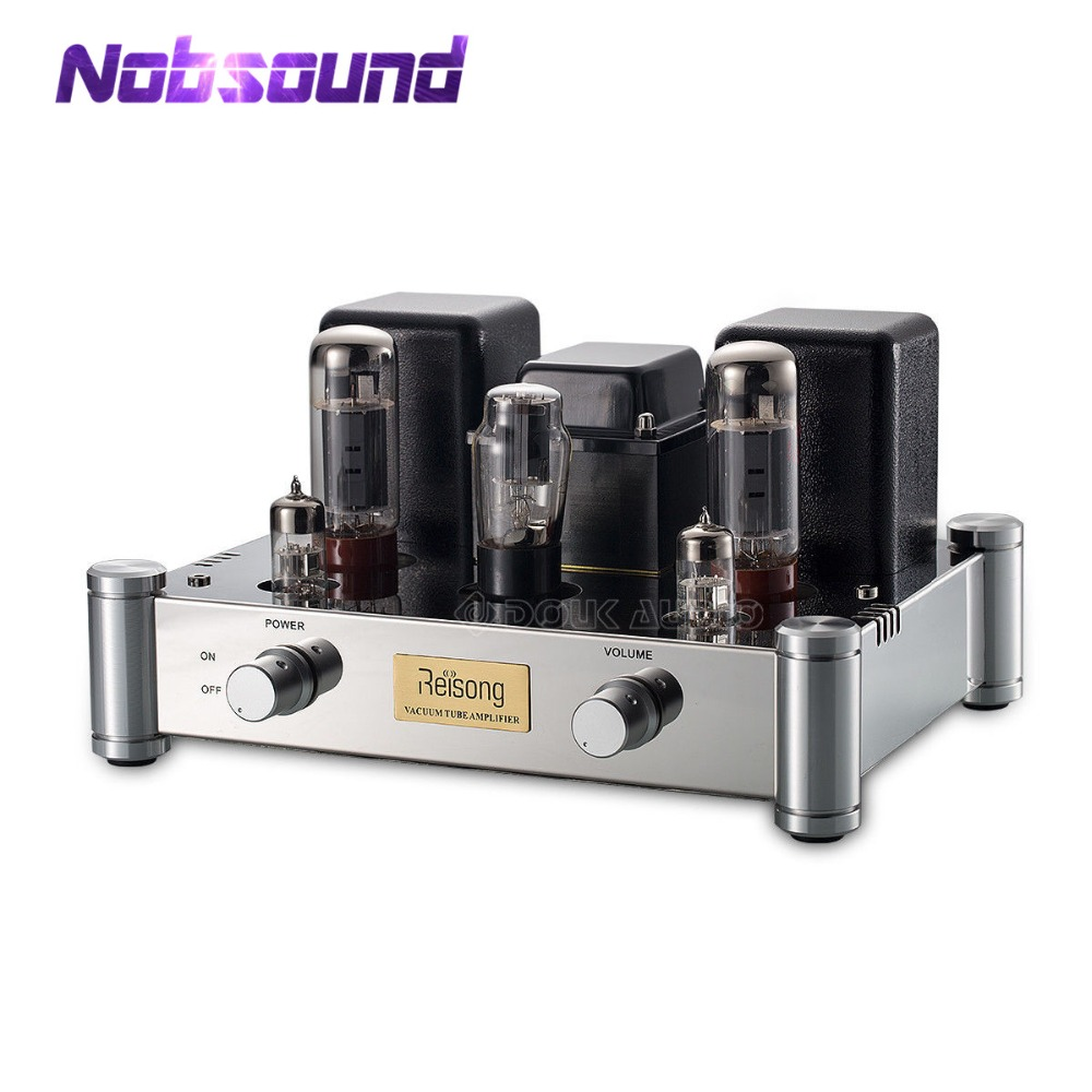 2019 Nobsound Hi-End EL34 Single-ended Valve Tube Amplifier Stereo Class A HiFi 2.0 Channel Power Amp 24W