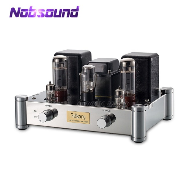 US $260 1 10% OFF|2019 Nobsound Hi End EL34 Single ended Valve Tube  Amplifier Stereo Class A HiFi 2 0 Channel Power Amp 24W-in Amplifier from  Consumer