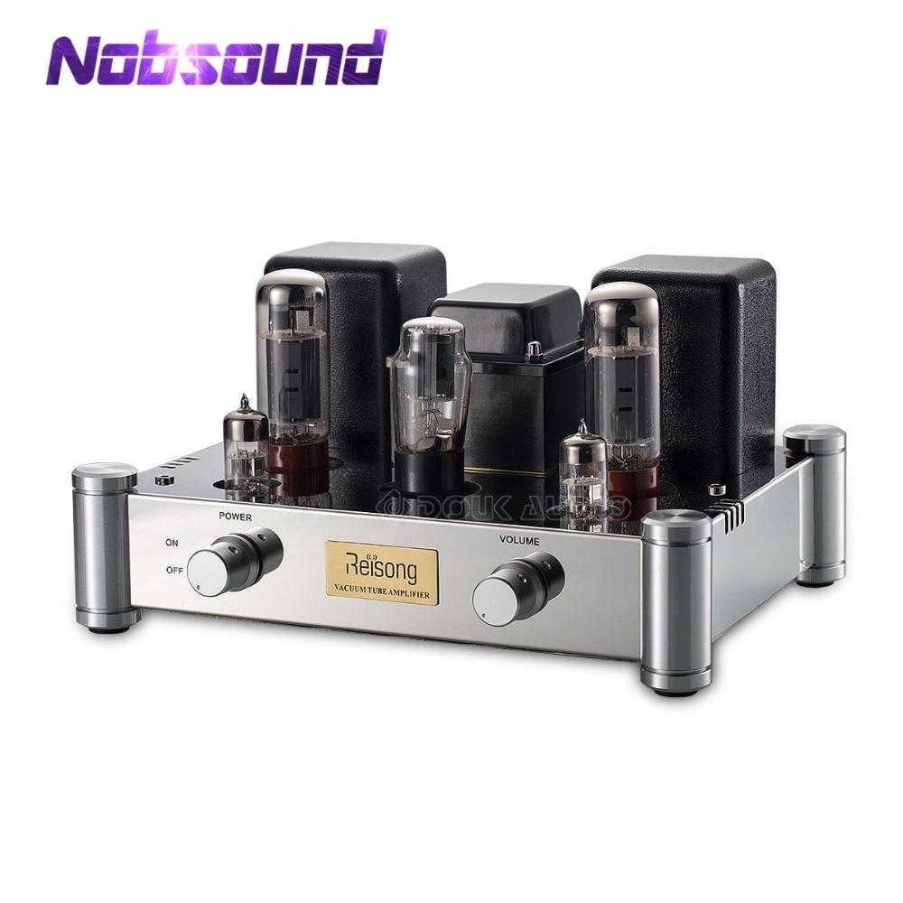 2019 Nobsound Salut-Fin EL34 Single-ended Valve Tube Amplificateur Stéréo Classe Un HiFi 2.0 Canaux Amplificateur de Puissance 24 W
