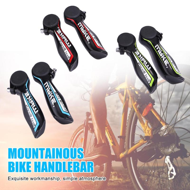 WAKE 1pair Aluminium Alloy MTB Bike Handlebar Grips Outdoor Bicycle Tools