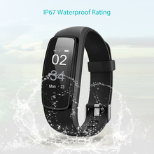 ID107PLUS Smart Bracelet IP67 Waterproof Pedometer Heart Rate Monitor Fitness Tracker Smart Wristband Multi Sport Band