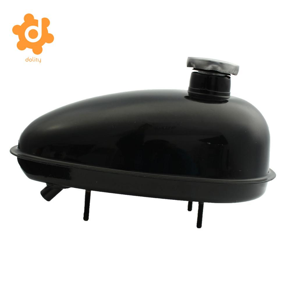 49cc 60cc 66cc 80cc Engine Motorized Bicycle Fuel Gas Tank & Cap Petcock 3L gas fuel cap